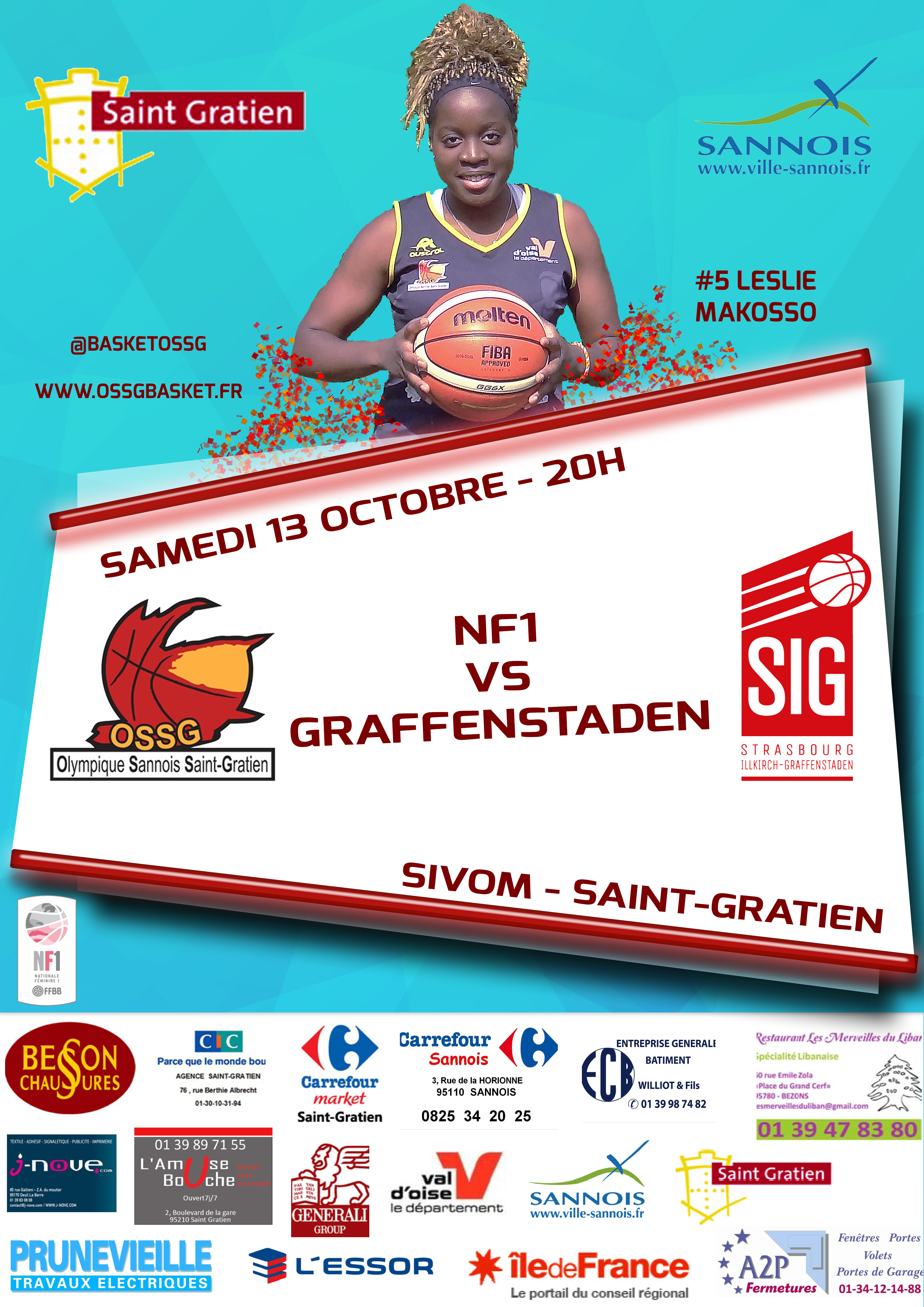 MATCH VS GRAFFENSTADEN - 13/10/18