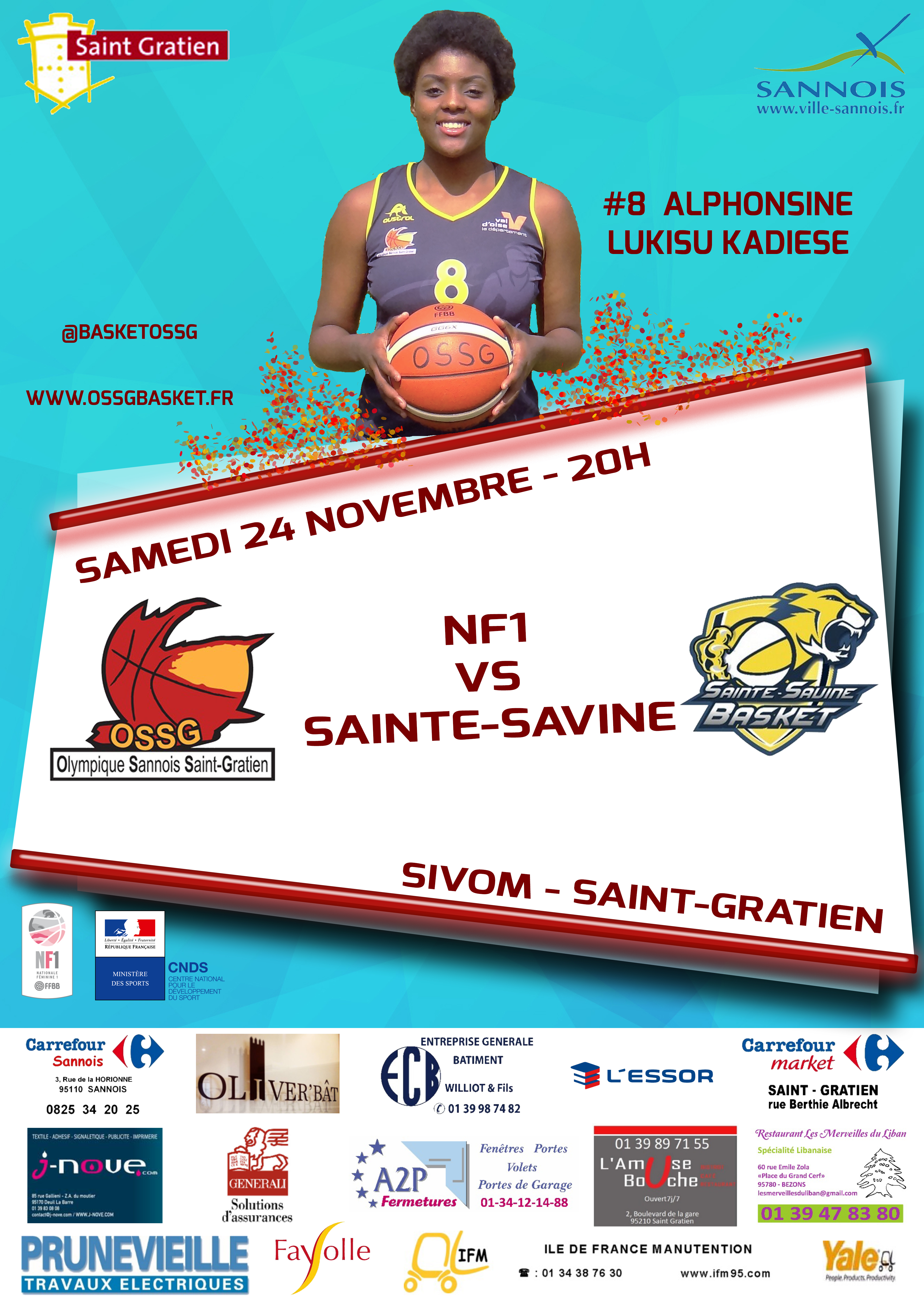 MATCH VS STE SAVINE - 24/11/18